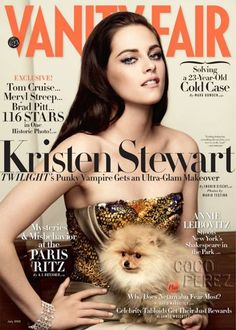 You've made it when you're on the cover of Vanity Fair!