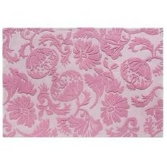 Riased Floral Wool Rug, The Land of Nod...so cute for a little girls room