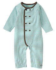 jj stripe button one piece with faux leather buttons and elbow patches ... presh