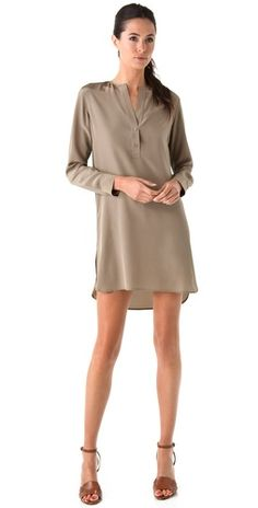 vince tunic dress. would look super cute with leggings & boots too.