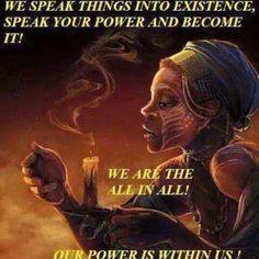 Speak your power....