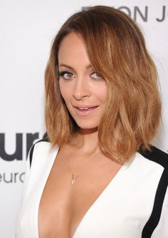 Chic Medium Length Hairstyles: Nicole Richie Hair - PoPular Haircuts