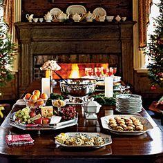 Healthy Holiday Meals  | Southern Open House Menu | MyRecipes.com