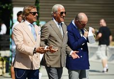 Tommy Ton's Street Style: Pitti Uomo: Style: GQ. These older gents really have it down.