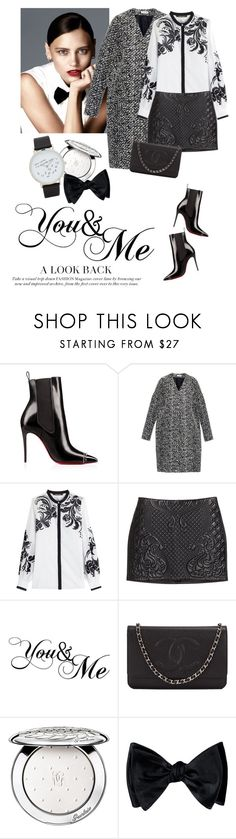 """""""You&Me"""" by lera-chyzh ❤ liked on Polyvore featuring Balenciaga, Roberto Cavalli, H&M, Chanel, Guerlain and ALDO"""