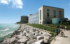 Loyola University on Lake Michigan (Chicago Pin of the Day, Too much time spent right here. Loyola University Chicago, Catholic University, University College, Travel Sights, The 'burbs, College Fun, College Goals, College Football, My Kind Of Town