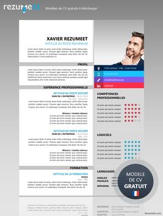 Xuhui - Free Modern Resume Template for Word