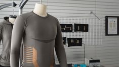 LAS VEGAS - Smart textile developer Myant Inc. , has announced the development of the world's first cuffless blood pressure monitoring technology inside Technical Textiles, Smart Textiles, Human Computer, Blood Pressure, First World, Wetsuit, Monitor, Platform, Wellness
