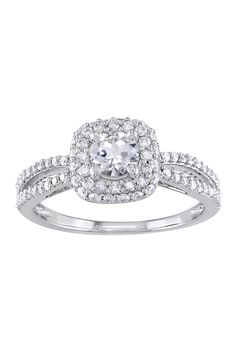 Double Halo Ring ~ Would love for my engagement ring!