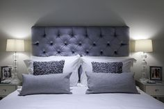 Bedroom 2 Interior Projects, Mews House, Bed Pillows, Interior, House, Bedroom, Office Design, Interior Architecture, Architectural Services