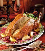 Gęś faszerowana po polsku Polish Recipes, Polish Food, Poultry, Recipies, Pork, Turkey, Food And Drink, Beef, Vegan