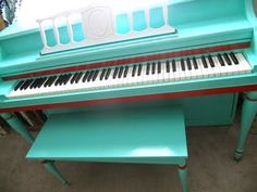 How to repaint a piano