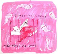 🎀r 0 t t en🎀 Im Losing My Mind, Lose My Mind, Vent Art, Psy Art, Arte Obscura, Poses References, Arte Sketchbook, A Silent Voice, Art Moderne