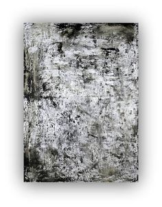 large abstract painting large canvas painting huge painting big painting gray painting silver painting black painting grey painting wall art