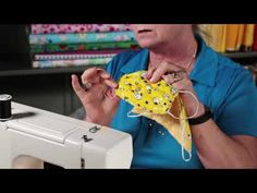 How To Sew a Medical Face Mask for a Cancer Patient or COPD patient. - Informations About How To Sew a Medical Face Mask for a Cancer Patient or COPD patient. Sewing Tutorials, Sewing Hacks, Sewing Projects, Sewing Patterns, Knitting Projects, Knitting Patterns, Sewing Ideas, Free Motion Quilting, Longarm Quilting