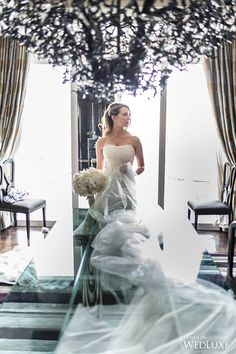 WedLuxe– Cherry Blossoms Transform this Vegas Wedding into a Floral Fantasy | Photography By: AltF Photography Follow @WedLuxe for more wedding inspiration!