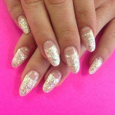 #glitter  #stilettonail