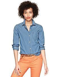 1969 polka dot one-pocket shirt