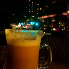 Late coffee on a lazy Saturday evening..