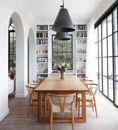 bookcases // arches // windows