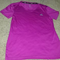 6dea04528f06fc Adidas climate shirt Womens Adidas Climalite purple v neck athletic tee  Size womens small 100% · Keep Your CoolAdidas ...