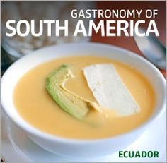 Locro, tipical soup of Cuenca, Ecuador. Looks delicious, right? Pin your fave South American foodspiration! #OnlyInSouthAmerica