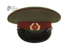 2bf7c50a7bc Soviet military Internal troops MVD privates and sergeants and petty officers  russian visor cap USSR hat