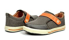 Dream Pairs GLY207 Boy's Athletic Velcro Strap Light Weight Memory Foam Running Sneakers Shoes Brown-Orange Size 13 - http://all-shoes-online.com/dream-pairs/13-m-us-little-kid-dream-pairs-gly4108-gly9297-boys-6