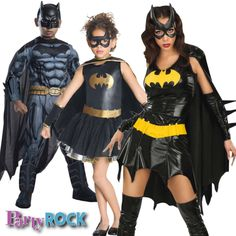 Transform your family to your favorite superheroes this Halloween with a little help from Party Rock in Frisco