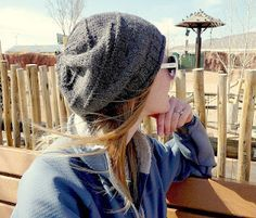slouchy hat free pattern
