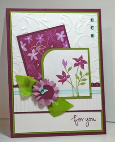 Joyful Creations with Kim: A Freshly Made, ColourQed, Paper Player birthday!