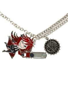 Black Butler Chibi Grell Necklace