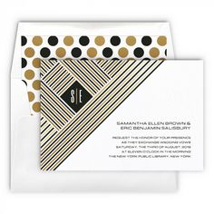 Contempo Wedding Invitation | eInvite.com