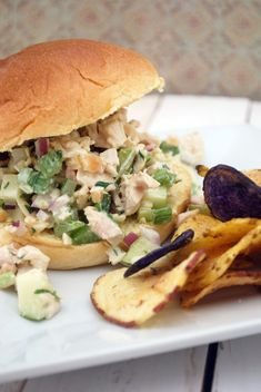 Apple-Almond Chicken Salad