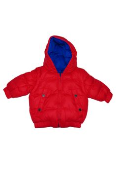 Adorable infant puffer coat by Little Marc Jacobs.