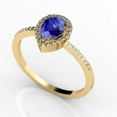 14k Yellow #Gold Tanzanite #Ring, Price: $1714.00