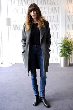 skinny jeans boots fashion coat style women tumblr