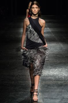 Prabal Gurung Fall 2014 Ready-to-Wear Fashion Show - Pamela Bernier