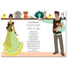 Abundance of joy custom godh bharai invitations hens and baby indian themed baby shower google zoeken stopboris Images