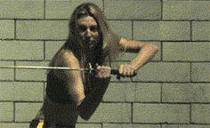 """Martial arts gifs and badassery! skylinesworld: """" desolatedwonderland: """" I don't even know how to describe the level of bad ass this is. """""""