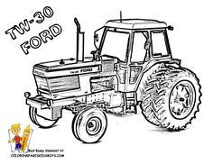 tractor printable coloring pages.html