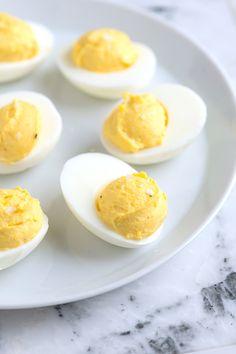 How to Make Deviled Eggs Recipe from www.inspiredtaste.net