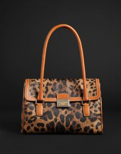 Dolce and Gabbana - animal print purse
