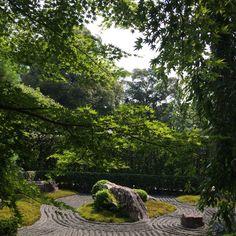 Ying garden at Taizoin