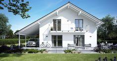 Kern-Haus Familienhaus Luce Eingangsseite
