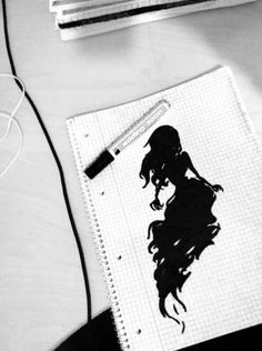 Schattengestalt Notebook, Shadows, Drawing S, Exercise Book, The Notebook, Journals