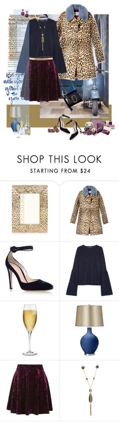 """velvet"" by justirena ❤ liked on Polyvore featuring Argento SC, Valentino, Gianvito Rossi, The Row, Riedel, Topshop, Kenneth Jay Lane and Irene Neuwirth"