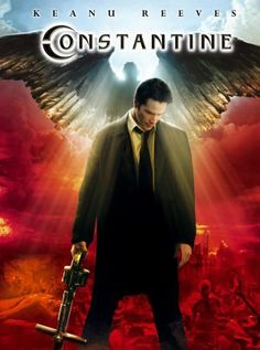 Constantine... First movie I saw concerning the spiritual realm...Good stuff..