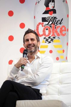Marc Jacobs talks about his new role as Creative Director for Diet Coke