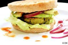 Baked Falafel Burger Recipe | Vegetarian/Vegan and Gluten Free | Chef In You